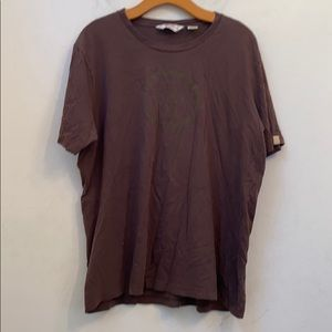 Penguin solid brown graphic tee size 2xl